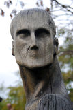 Träskulptursammansättning vid E. Chubarov Royaltyfria Bilder