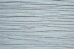 träsprucken målad textur Arkivfoto