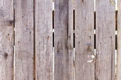 Trästaket av vertikala plankor Royaltyfri Foto