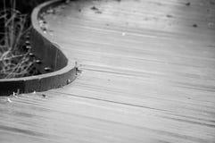 Trästrandpromenad Royaltyfri Fotografi