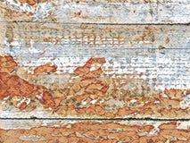 Trätapetbakgrund för Retro grunge Arkivbild