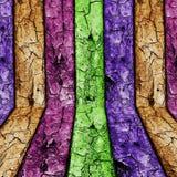 trätappningvägg Arkivbild
