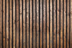 Trätextur med vertikala plankor Royaltyfria Foton