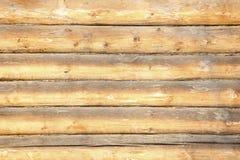 Trätimrad väggbakgrund Royaltyfri Fotografi