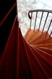 trätrappa Fotografering för Bildbyråer