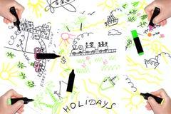 Träume über Feiertage Lizenzfreies Stockbild