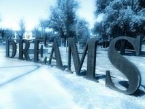 Träume lizenzfreie stockbilder
