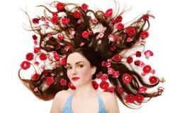Träume und Rosen lizenzfreies stockfoto