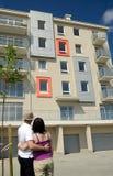 Träumen über neue Wohnung Stockfoto