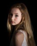 Träumen des jungen Mädchens Stockfotografie