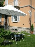 träumen Sie Eigentumlandhaus Como Stockbilder