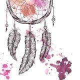 Träumen Sie Fänger Hand gezeichnet Stockbild