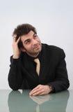 Träumender Geschäftsmann Lizenzfreies Stockfoto