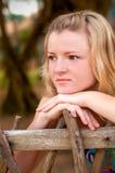 Träumendes Mädchen Lizenzfreie Stockfotografie