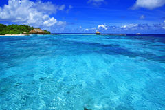 Träumerische Insel Stockbild