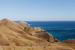 Träumerische Küste Stockbild