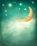 Träumerische Nacht lizenzfreie stockfotos