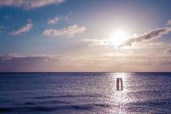 Träumerische Stimmung auf dem Strand Lizenzfreie Stockfotografie