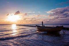 Träumerische Stimmung auf dem Strand Stockfoto