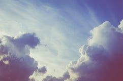 Träumerische Wolken lizenzfreie stockfotografie