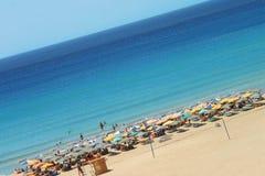 Träumerischer Strand lizenzfreies stockbild