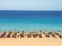 Träumerischer Strand Stockfotografie