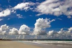 Träumerischer tropischer Strand stockbild