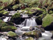 Träumerischer Wasserfall Lizenzfreies Stockfoto