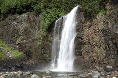 Träumerischer Wasserfall Stockfoto