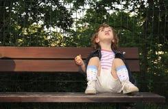 Träumerisches Kind Lizenzfreies Stockbild
