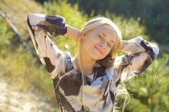 Träumerisches Mädchen Stockfotografie