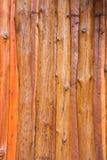 Trävägg Arkivbild