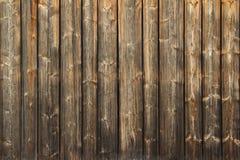 Trävägg Arkivfoto