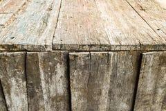Träväggen texturerar Arkivfoton