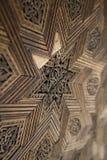 trävektor för stjärna för elementingreppsparkett Royaltyfri Foto