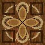 Träwood modeller för inlägg, för ljus och för mörker Träkonstgarneringmall Fanér texturerade geometriska beståndsdelar vektor illustrationer