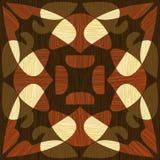 Träwood modeller för inlägg, för ljus och för mörker Träkonstgarneringmall Fanér texturerade geometriska beståndsdelar, stock illustrationer