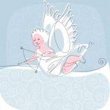 tråd för 2 ängel Royaltyfria Bilder