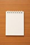 tråd för anteckningsbok o arkivfoto
