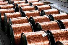 Tråd för för Chongqing metalltråd och kabel och kabeltillverkning arkivbild