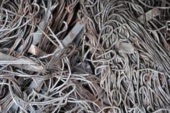 tråd för metallrest Arkivfoton