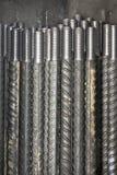trådd metallstång Arkivbilder