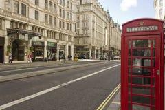 Trådgata i London Royaltyfri Bild