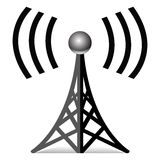 Trådlös antenn Royaltyfria Bilder