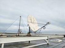 Trådlös dataöverföring för antenner, internetuppkopplingaktiveringsföretag, reserv- datakanal Fotografering för Bildbyråer
