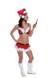 trådlös jul fotografering för bildbyråer