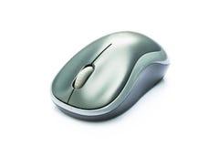 Trådlös mus på isolatvitbakgrund Fotografering för Bildbyråer