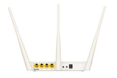 Trådlös Router Arkivfoton