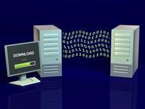 trådlösa datorer stock illustrationer