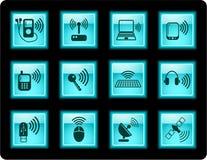 trådlösa symboler Arkivbild